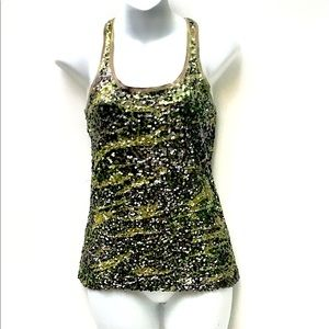 Lucky Brand Sequined Tank Top